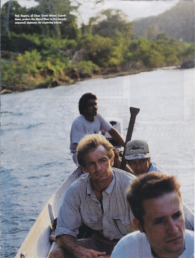 Neil Rogers, Macal River, Belize
